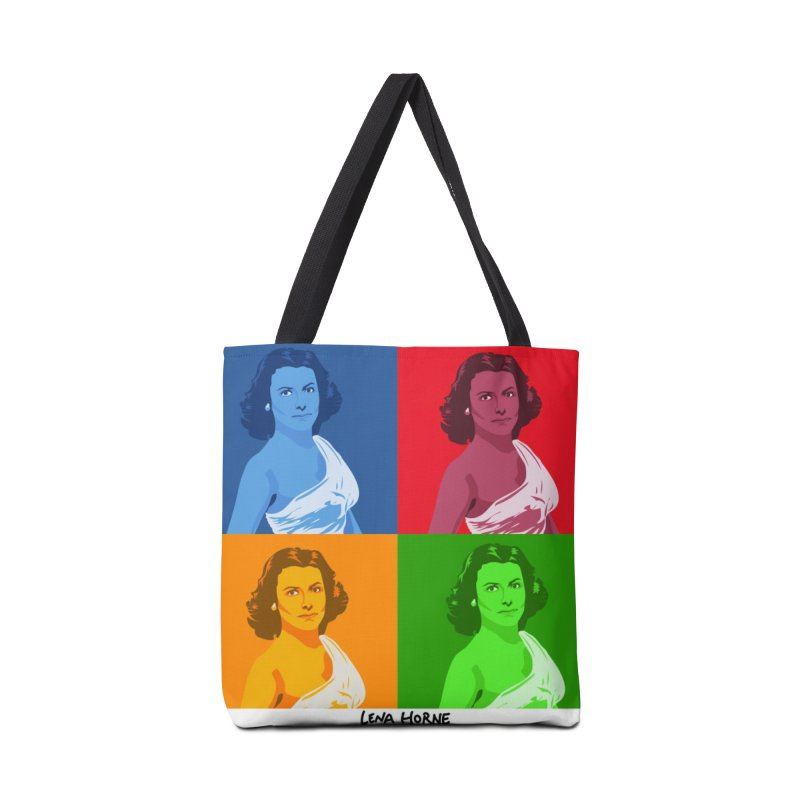 Lena Horne Accessories Bag by In this great future, you can't forget your past.