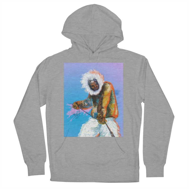 Matthew Henson Polar Explorer Men's French Terry Pullover Hoody by In this great future, you can't forget your past.