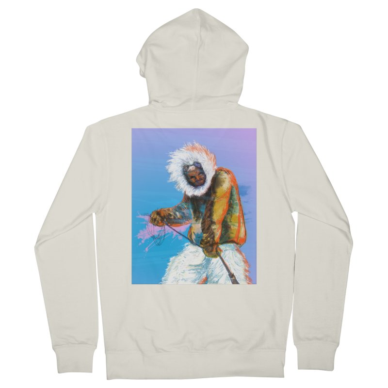 Matthew Henson Polar Explorer Women's French Terry Zip-Up Hoody by In this great future, you can't forget your past.