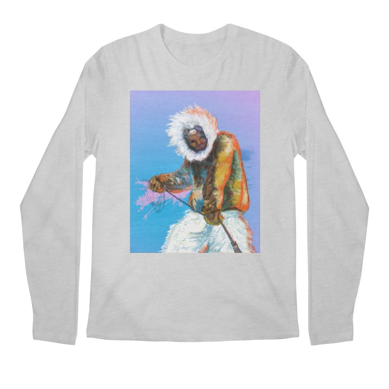 Matthew Henson Polar Explorer Men's Longsleeve T-Shirt by In this great future, you can't forget your past.