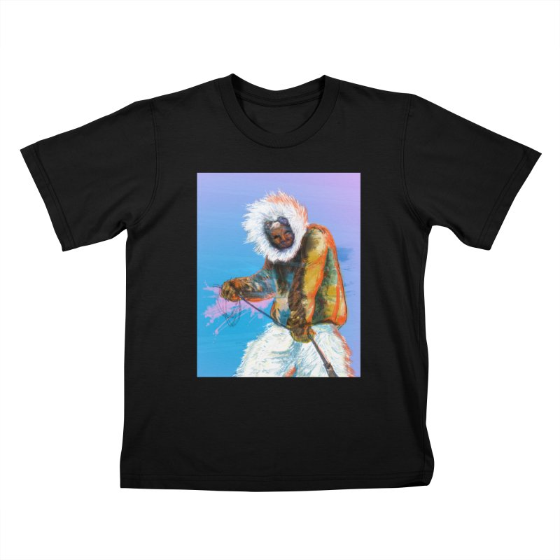 Matthew Henson Polar Explorer Kids T-Shirt by In this great future, you can't forget your past.