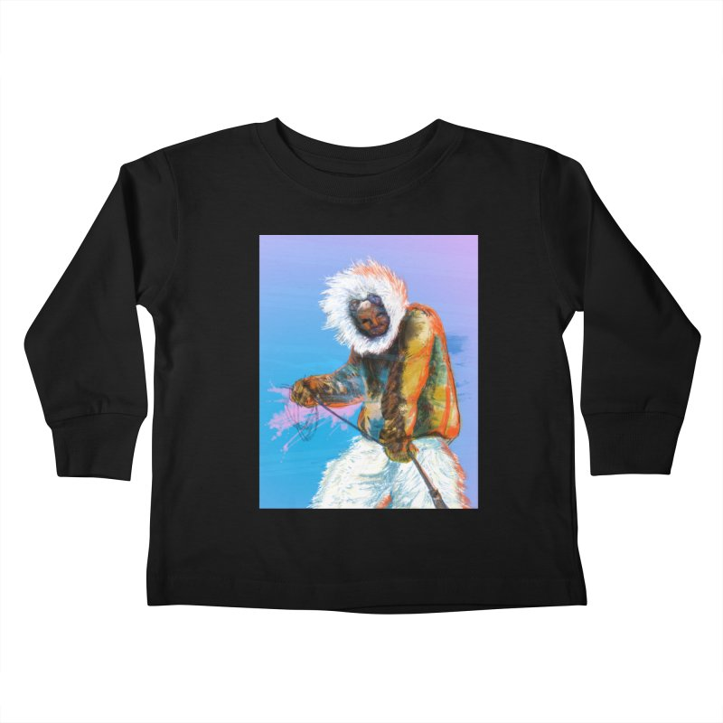 Matthew Henson Polar Explorer Kids Toddler Longsleeve T-Shirt by In this great future, you can't forget your past.