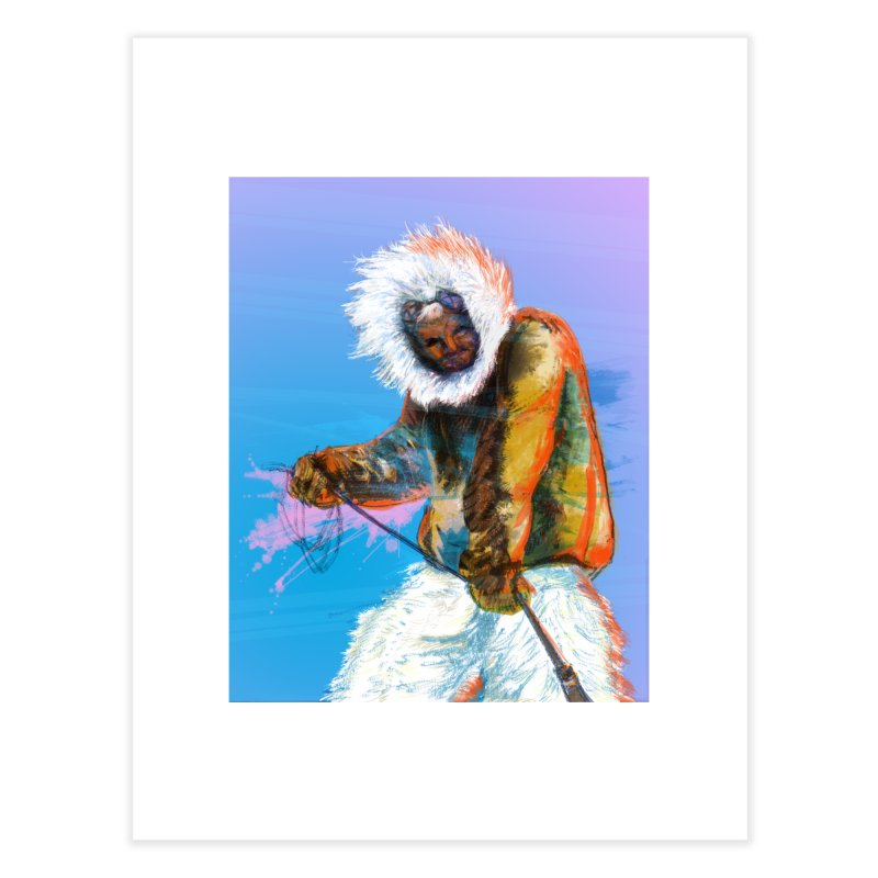 Matthew Henson Polar Explorer Home Fine Art Print by In this great future, you can't forget your past.