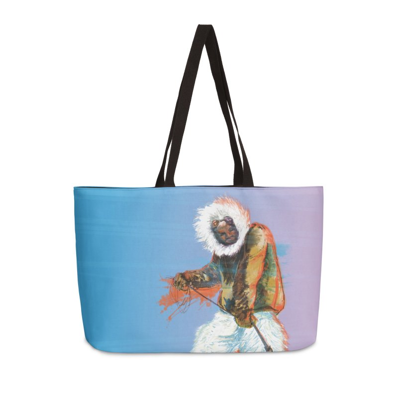 Matthew Henson Polar Explorer Accessories Weekender Bag Bag by In this great future, you can't forget your past.
