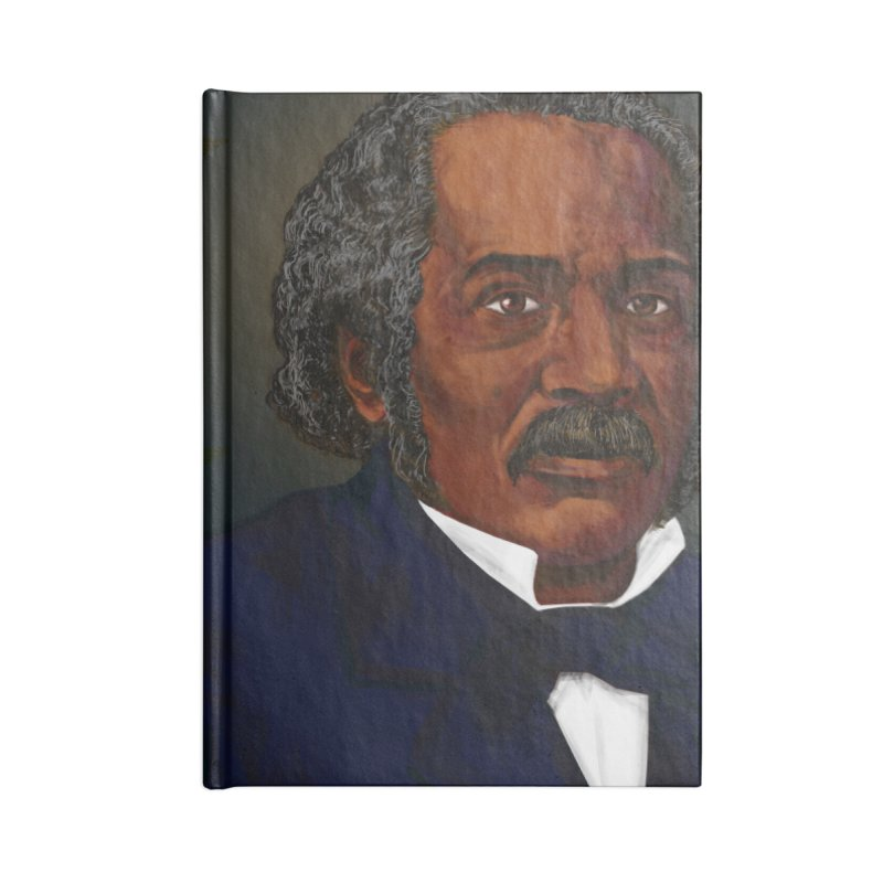 Dr James McCune Smith Accessories Notebook by In this great future, you can't forget your past.