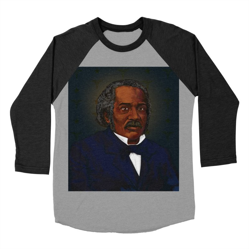 Dr James McCune Smith Women's Baseball Triblend Longsleeve T-Shirt by In this great future, you can't forget your past.
