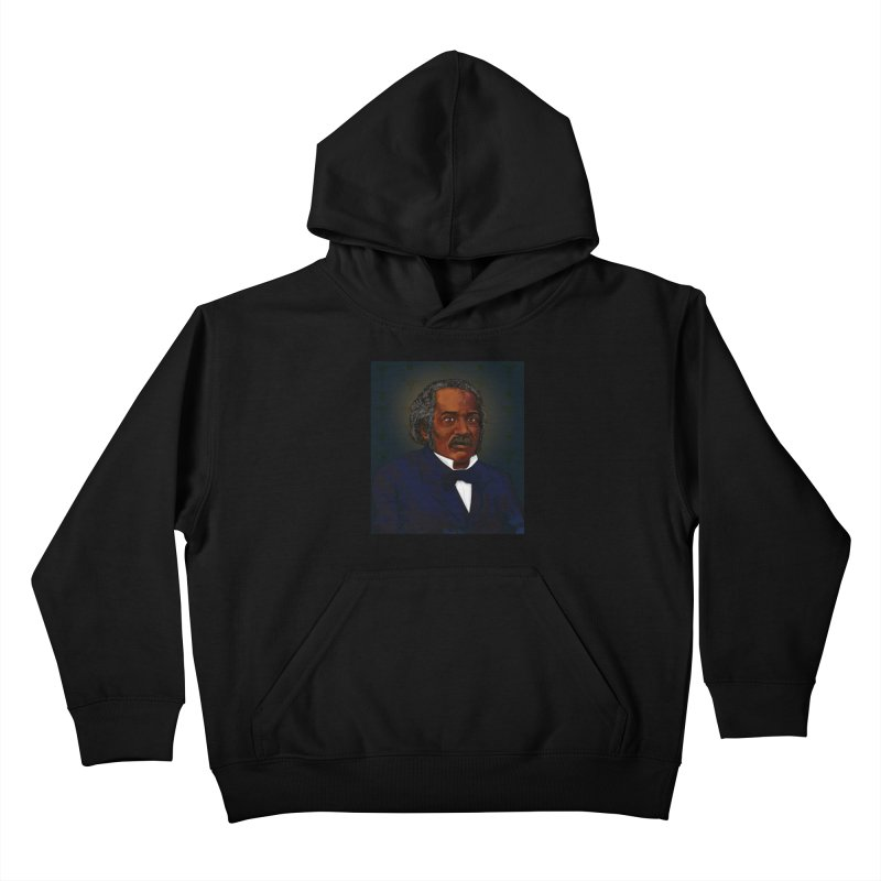 Dr James McCune Smith Kids Pullover Hoody by In this great future, you can't forget your past.