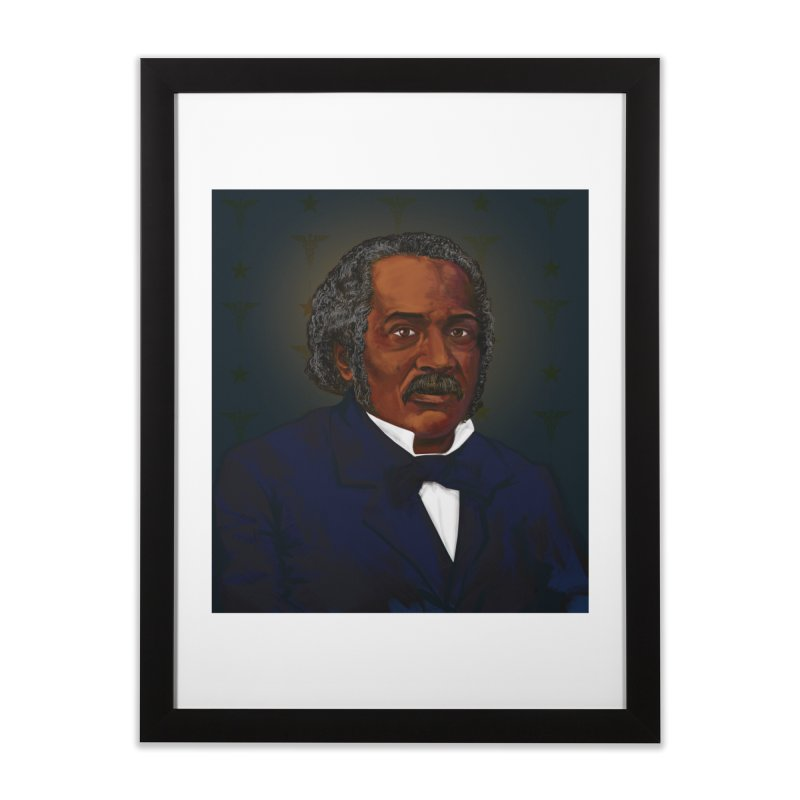 Dr James McCune Smith Home Framed Fine Art Print by In this great future, you can't forget your past.