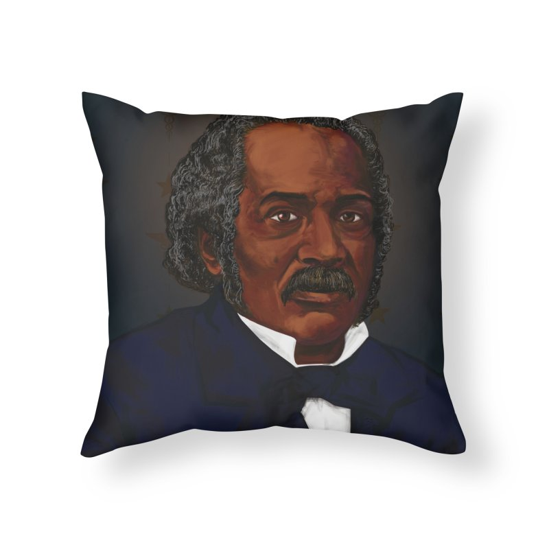 Dr James McCune Smith Home Throw Pillow by In this great future, you can't forget your past.