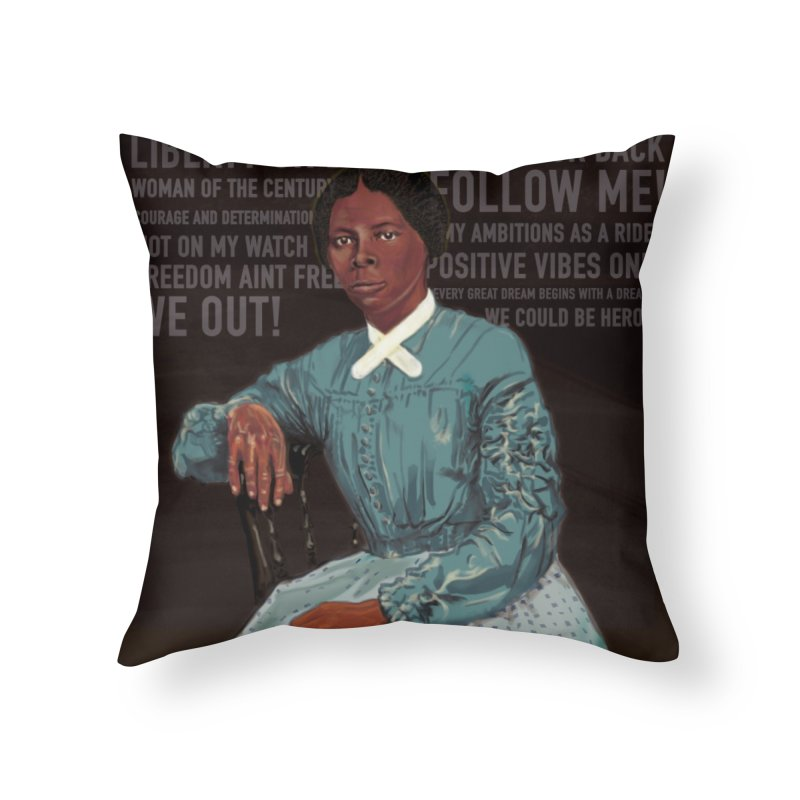 This Way to Freedom Home Throw Pillow by In this great future, you can't forget your past.
