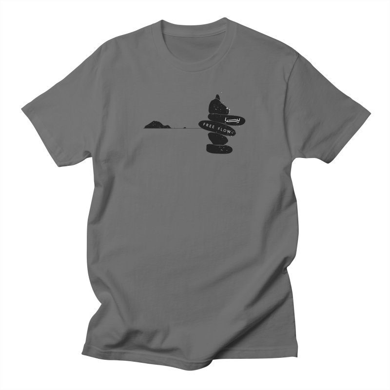 Marathonisi  / Turtle Island Men's T-Shirt by Free Flow - Freediving related designs