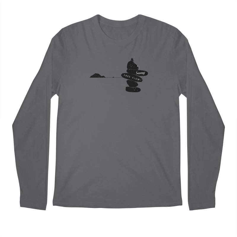 Marathonisi  / Turtle Island Men's Longsleeve T-Shirt by Free Flow - Freediving related designs