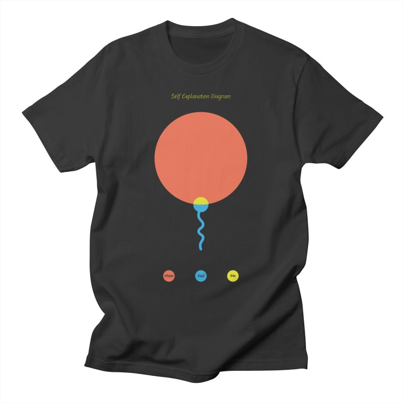 Self Explanation Diagram Men's T-Shirt by Freehand