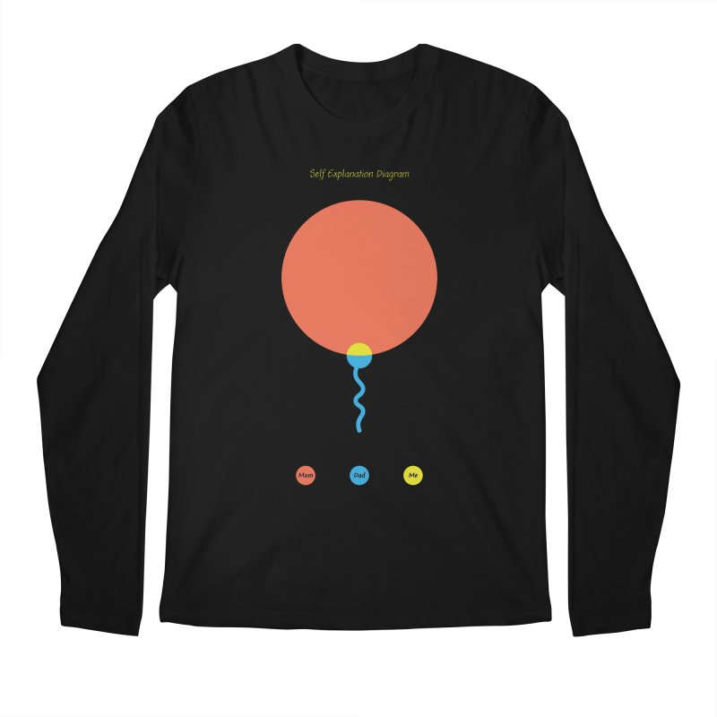 Self Explanation Diagram Men's Regular Longsleeve T-Shirt by Freehand