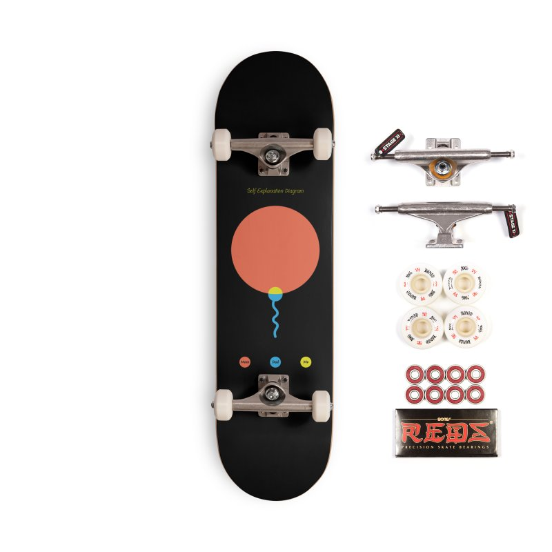 Self Explanation Diagram Accessories Complete - Pro Skateboard by Freehand