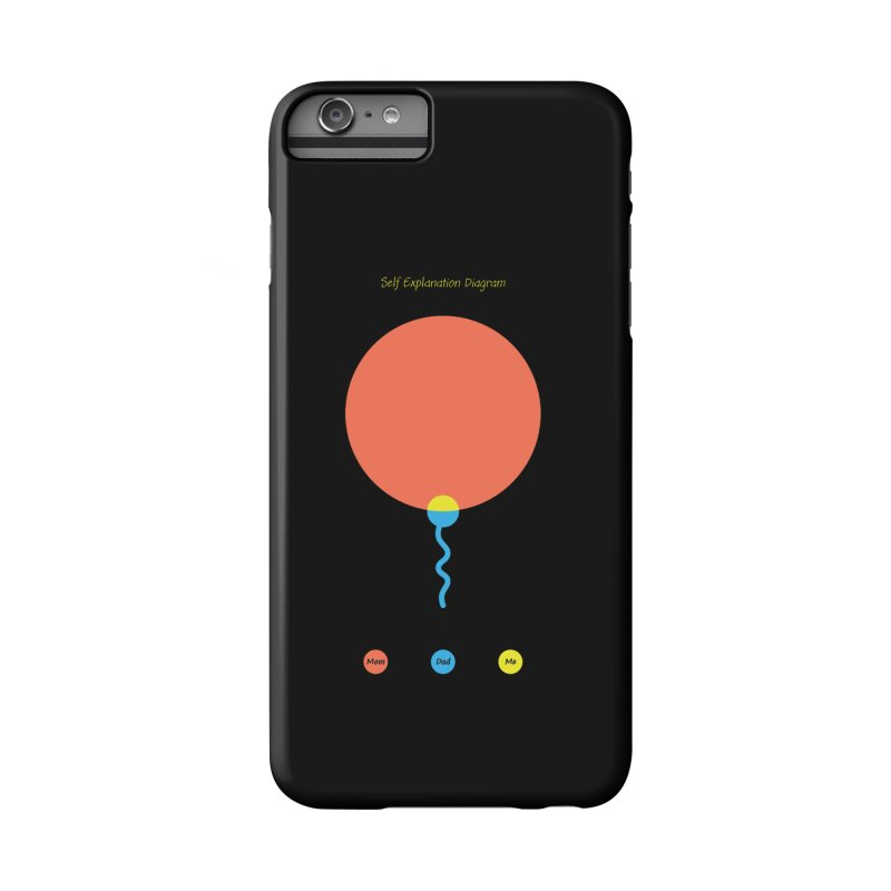 Self Explanation Diagram Accessories Phone Case by Freehand
