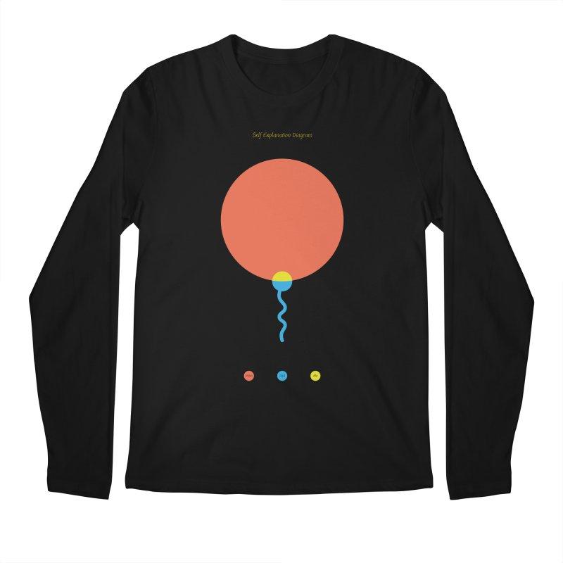 Self Explanation Diagram Men's Regular Longsleeve T-Shirt by Freehand