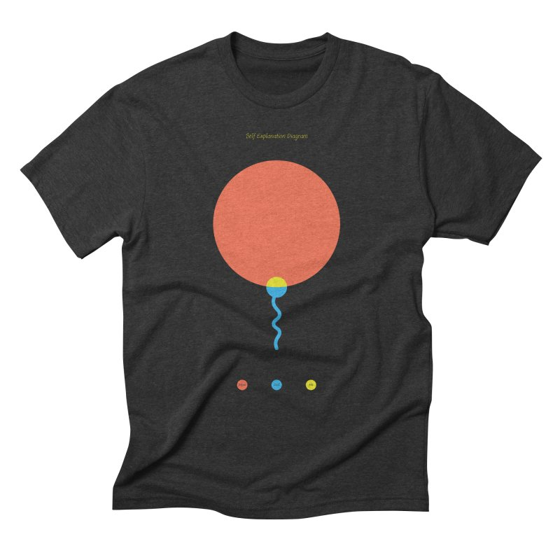 Self Explanation Diagram Men's Triblend T-Shirt by Freehand