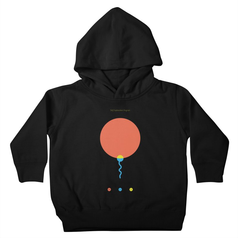 Self Explanation Diagram Kids Toddler Pullover Hoody by Freehand