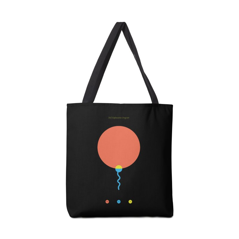 Self Explanation Diagram Accessories Tote Bag Bag by Freehand