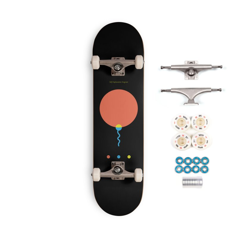 Self Explanation Diagram Accessories Complete - Premium Skateboard by Freehand