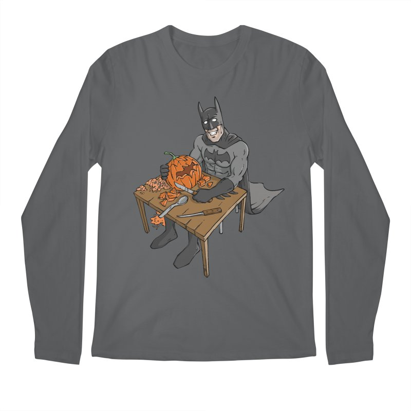 Pumpkin Signal Lamp Men's Longsleeve T-Shirt by Freehand