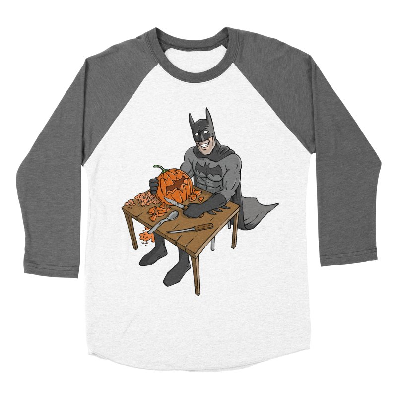 Pumpkin Signal Lamp Men's Baseball Triblend T-Shirt by Freehand