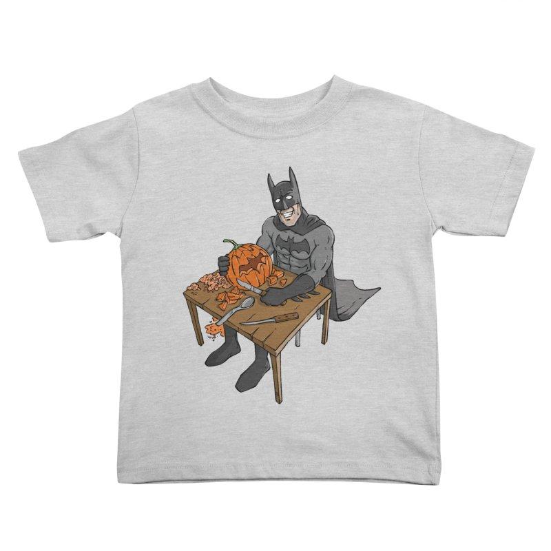 Pumpkin Signal Lamp Kids Toddler T-Shirt by Freehand