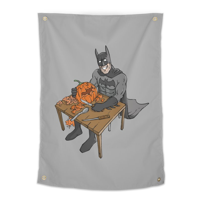 Pumpkin Signal Lamp Home Tapestry by Freehand