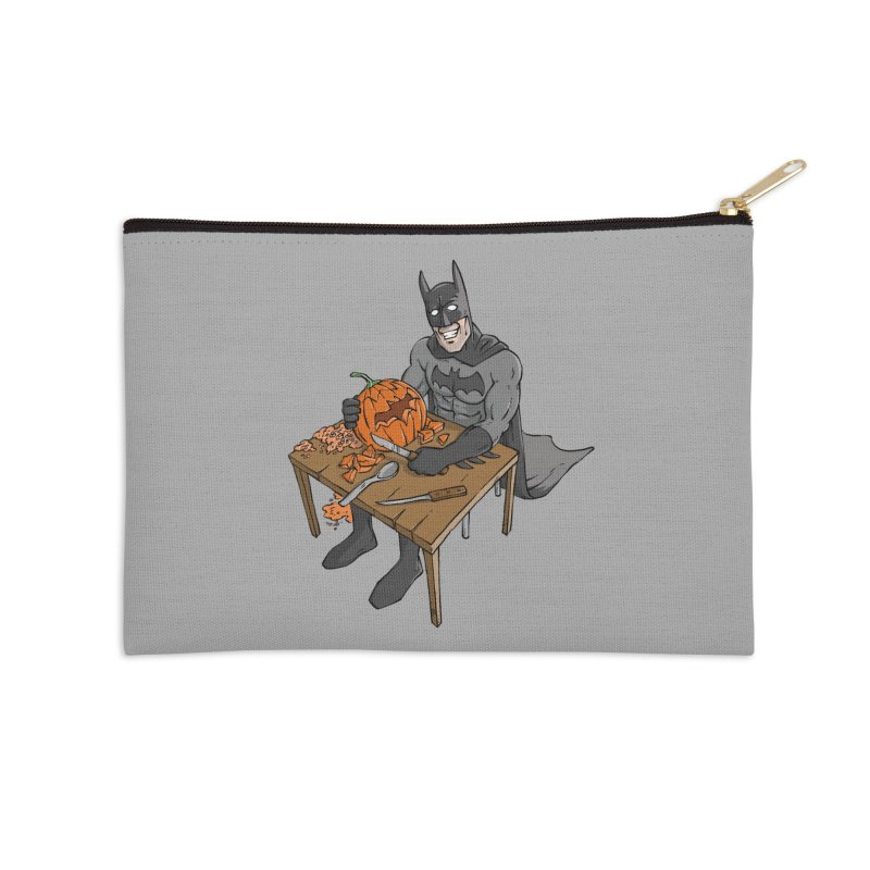 Pumpkin Signal Lamp Accessories Zip Pouch by Freehand