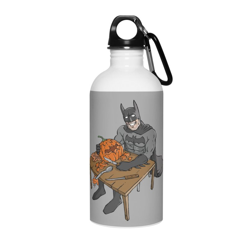 Pumpkin Signal Lamp Accessories Water Bottle by Freehand