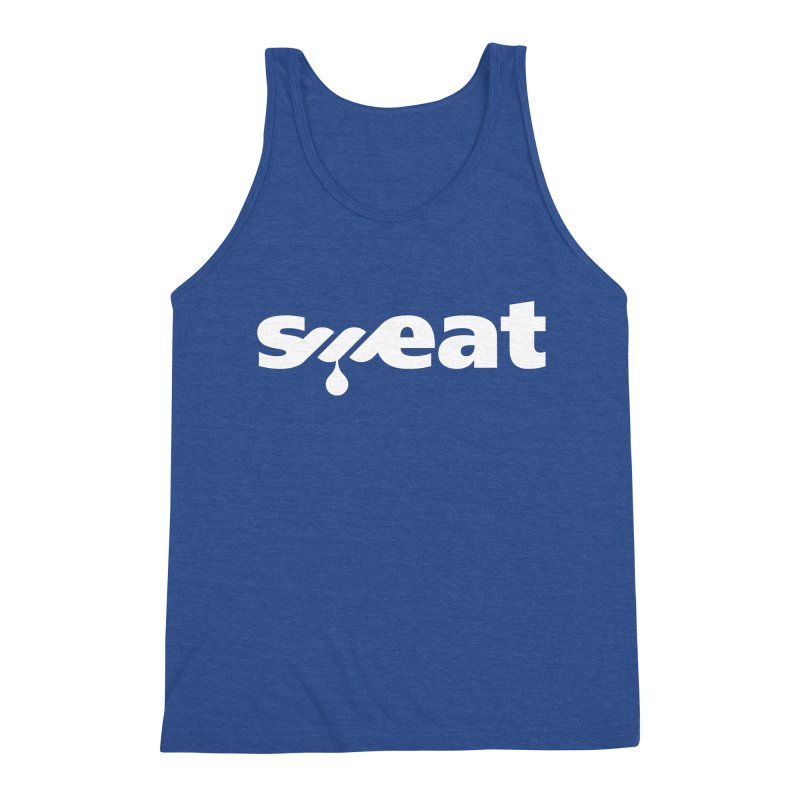 Sweat Men's Triblend Tank by Freehand