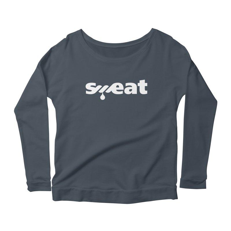 Sweat Women's Scoop Neck Longsleeve T-Shirt by Freehand