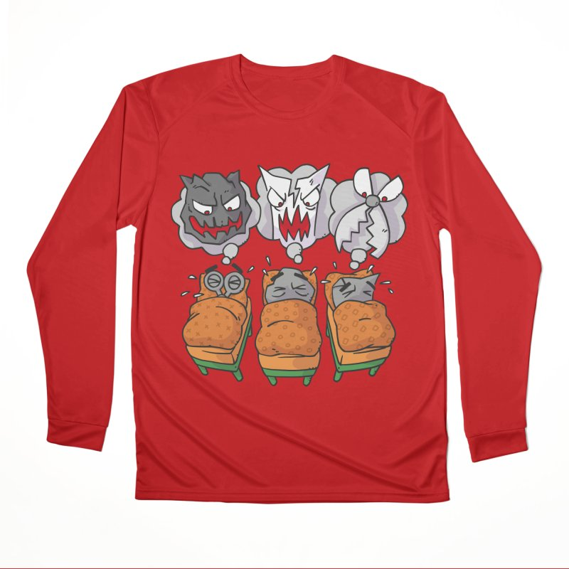Scary Nights Men's Performance Longsleeve T-Shirt by Freehand