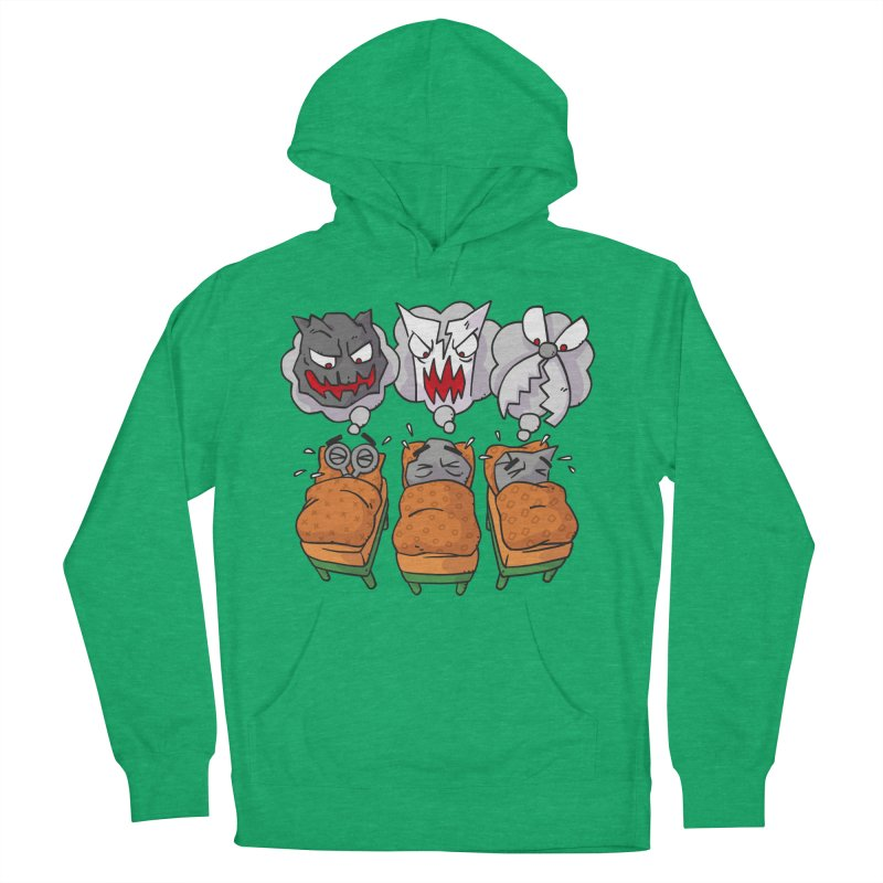Scary Nights Women's French Terry Pullover Hoody by Freehand