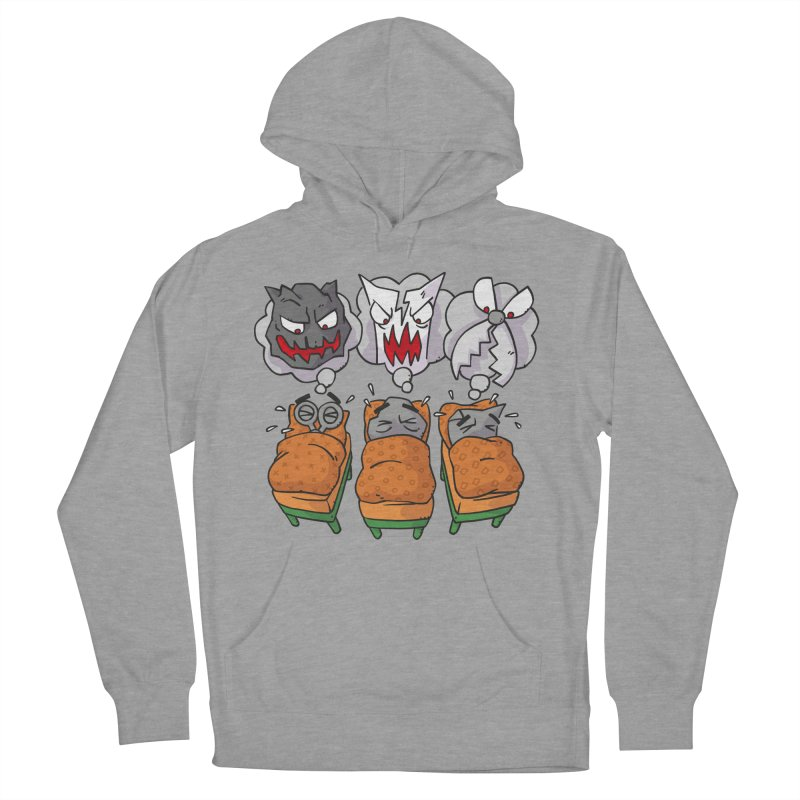 Scary Nights Men's French Terry Pullover Hoody by Freehand