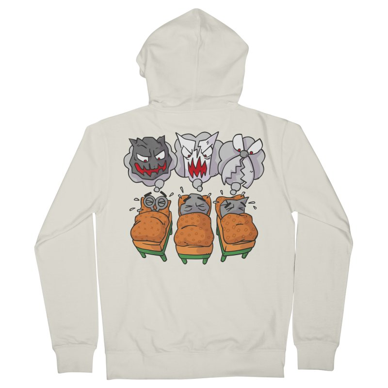 Scary Nights Men's French Terry Zip-Up Hoody by Freehand