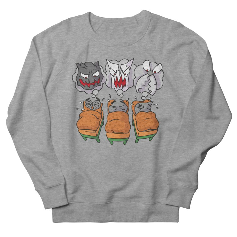 Scary Nights Women's French Terry Sweatshirt by Freehand