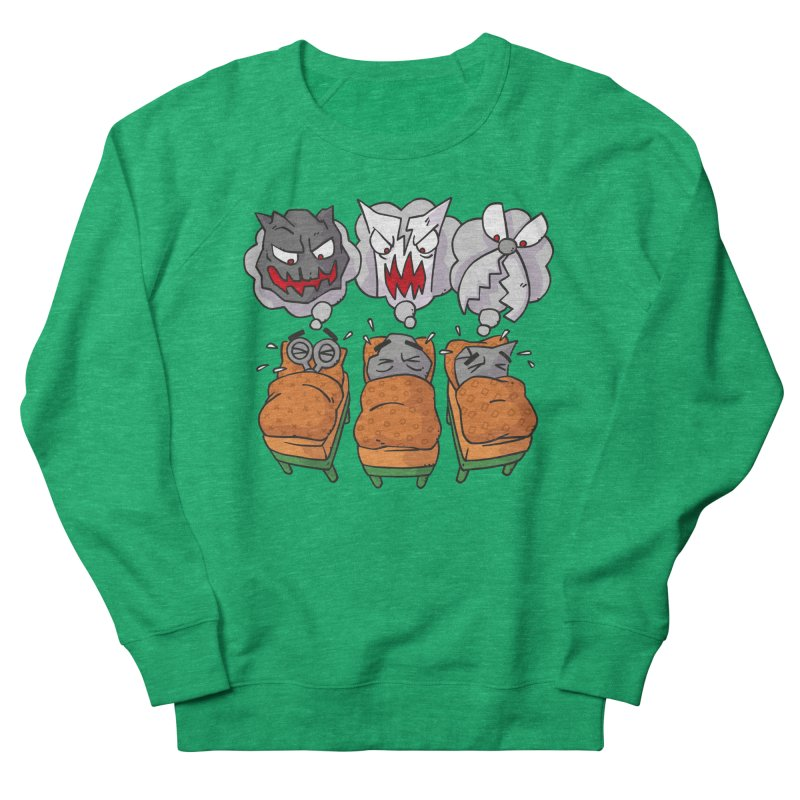 Scary Nights Men's French Terry Sweatshirt by Freehand