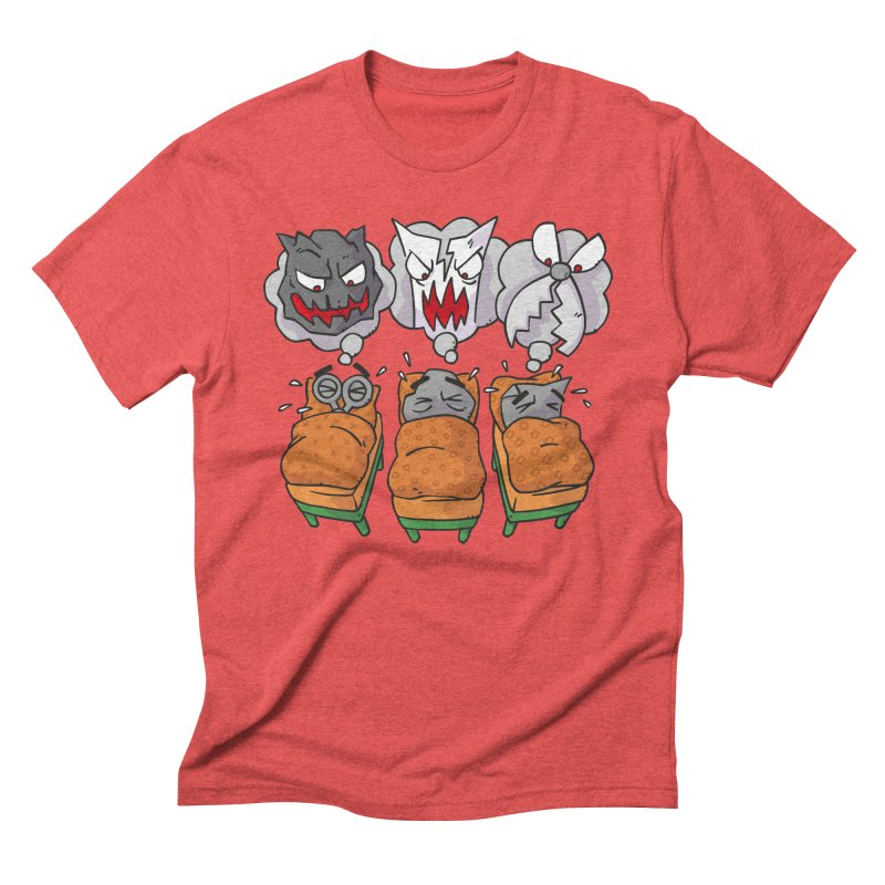 Scary Nights Men's Triblend T-Shirt by Freehand