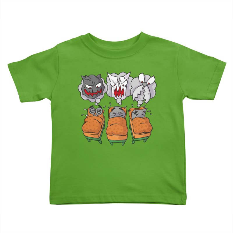 Scary Nights Kids Toddler T-Shirt by Freehand