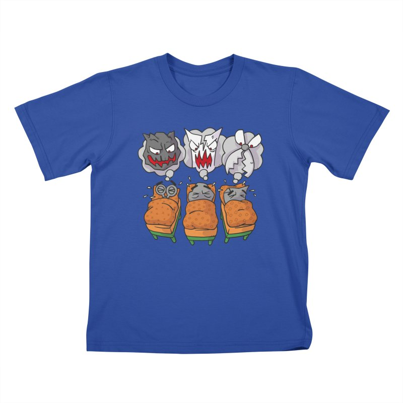 Scary Nights Kids T-Shirt by Freehand