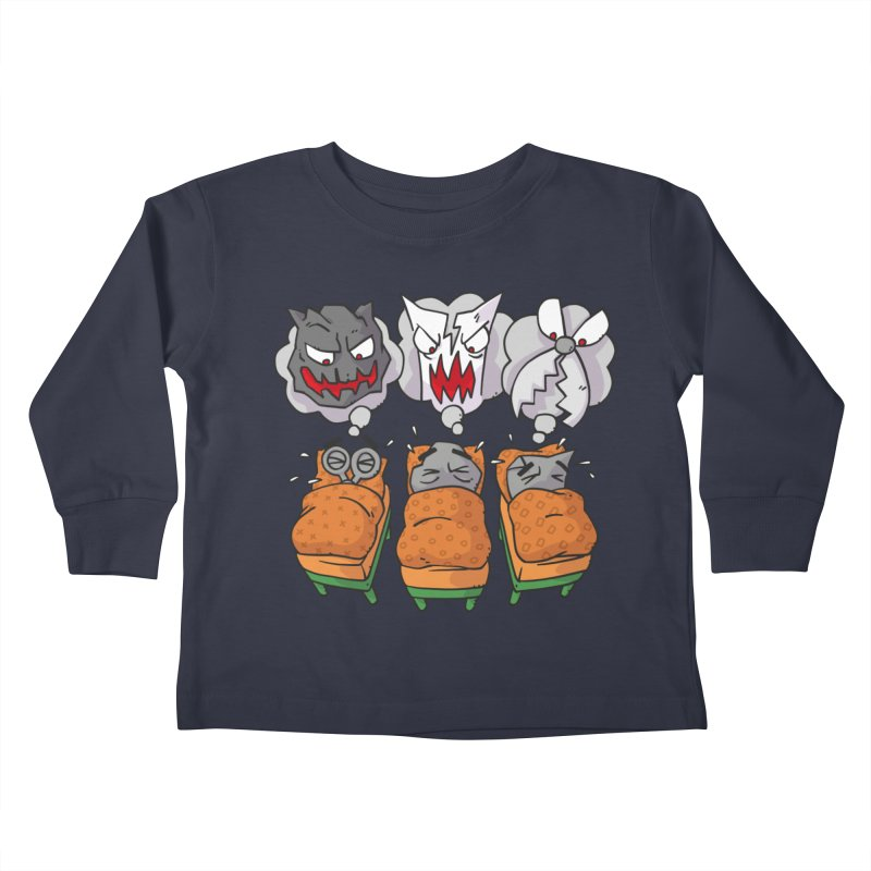 Scary Nights Kids Toddler Longsleeve T-Shirt by Freehand