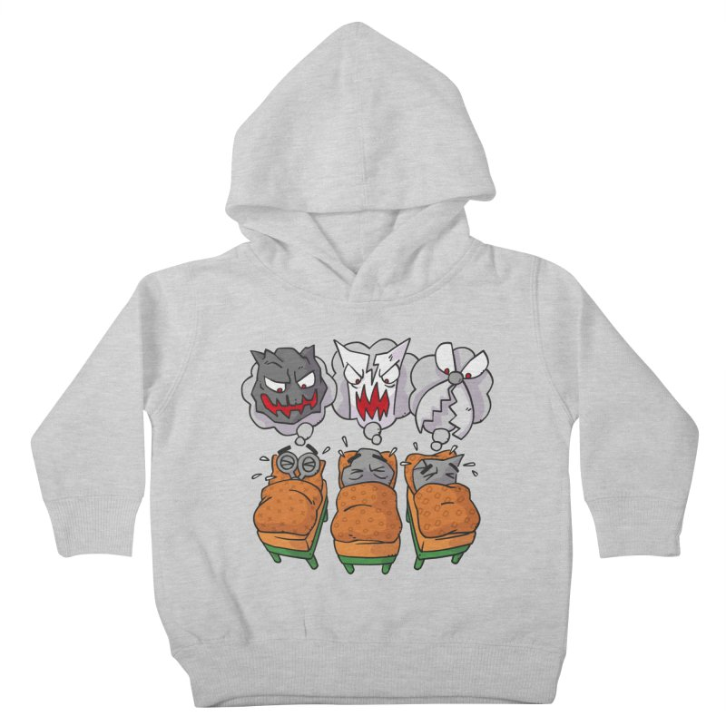 Scary Nights Kids Toddler Pullover Hoody by Freehand
