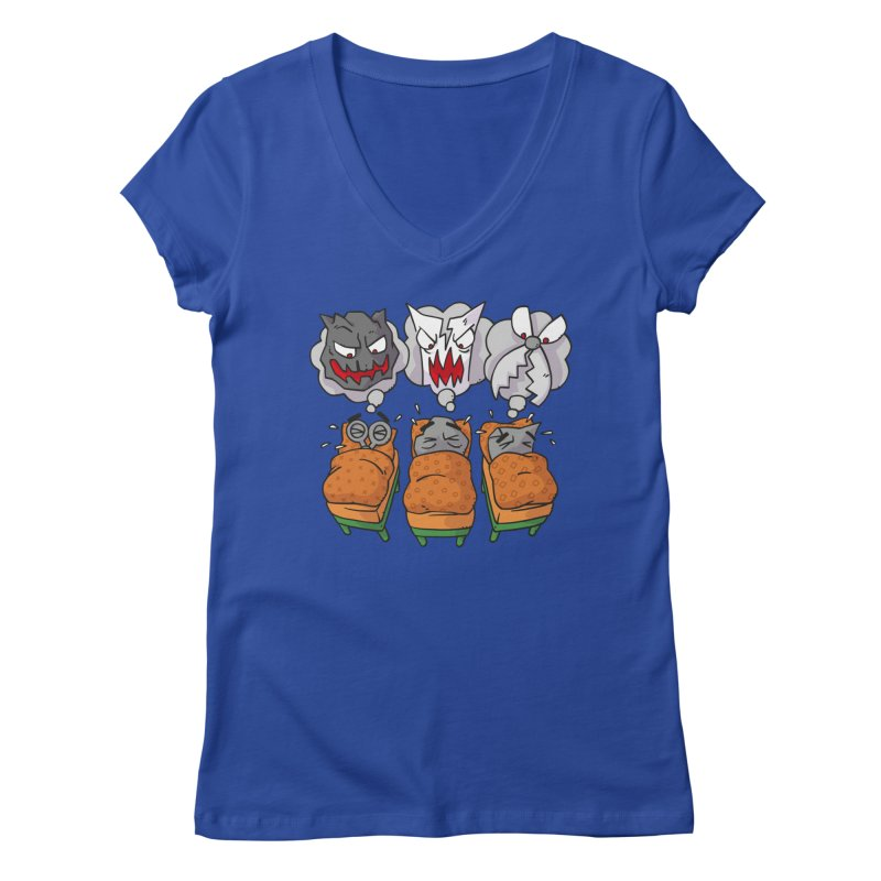 Scary Nights Women's V-Neck by Freehand