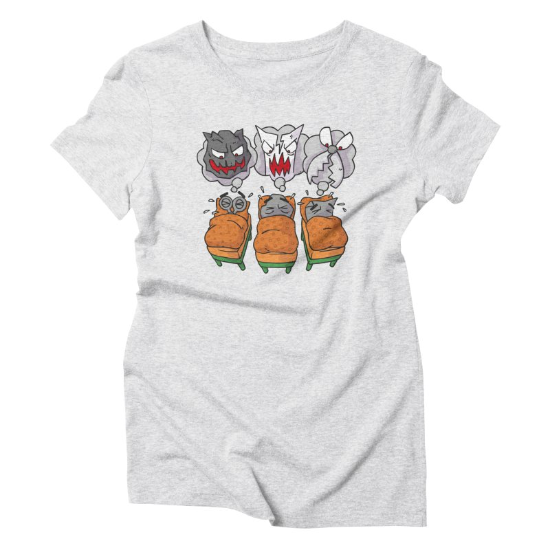 Scary Nights Women's Triblend T-Shirt by Freehand