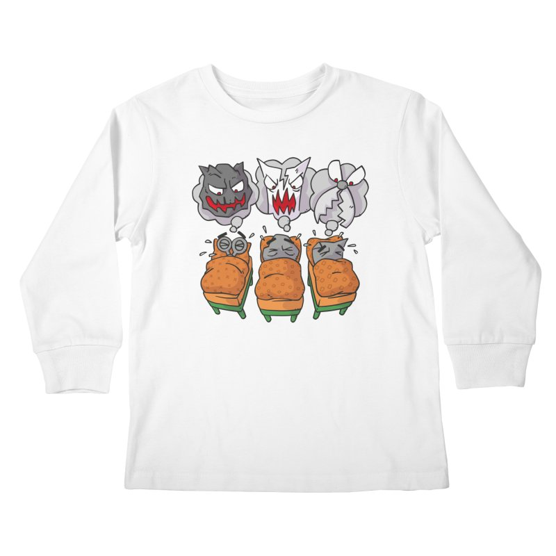 Scary Nights Kids Longsleeve T-Shirt by Freehand