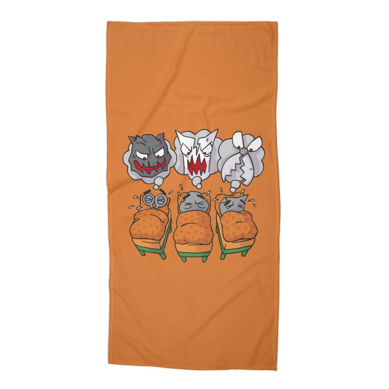 Scary Nights Accessories Beach Towel by Freehand