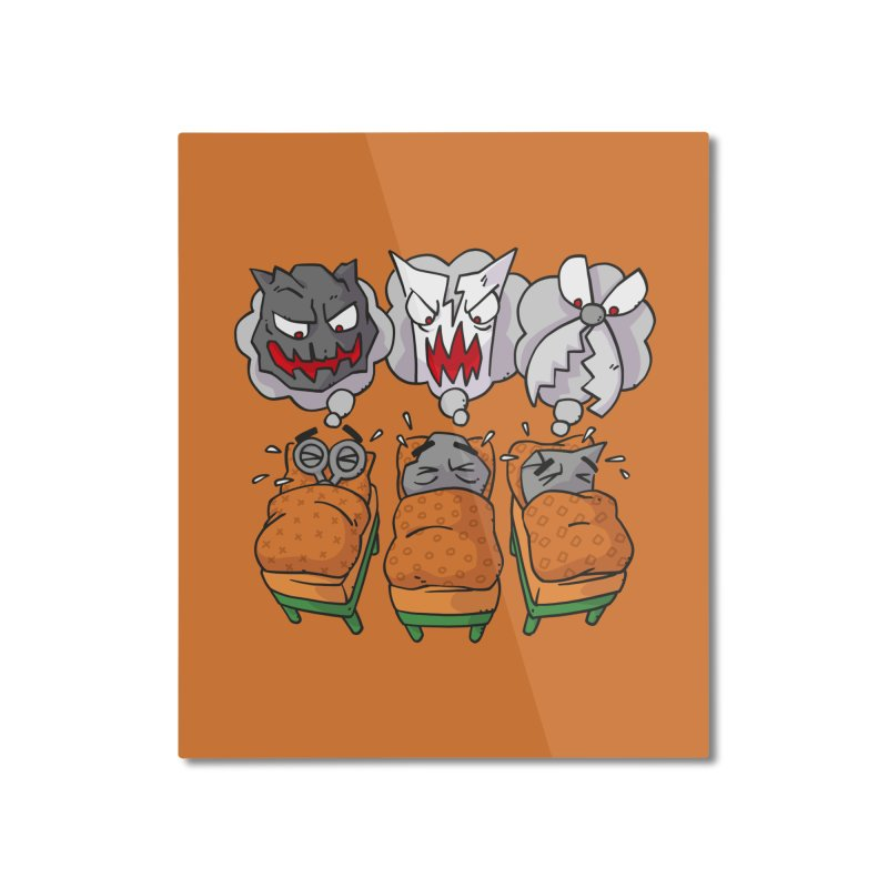 Scary Nights Home Mounted Aluminum Print by Freehand