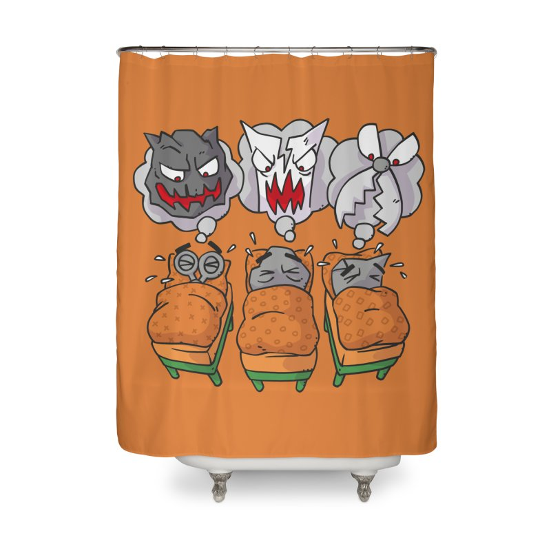 Scary Nights Home Shower Curtain by Freehand